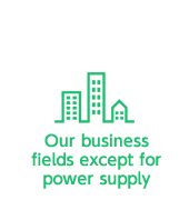Our business fields except for power supply