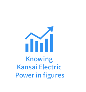 Knowing Kansai Electric Power in figures