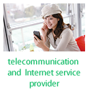 telecommunication and Internet service provider
